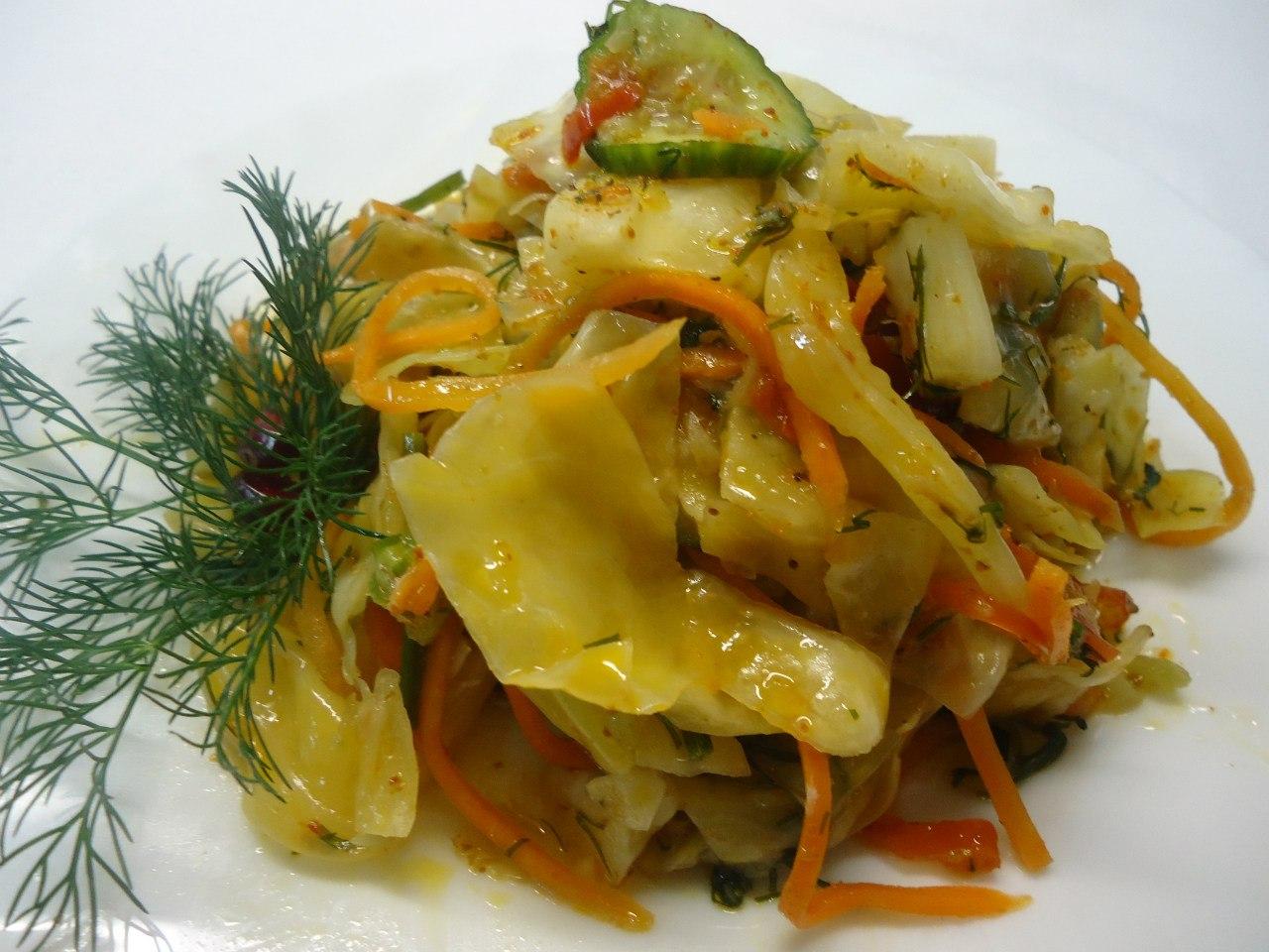 Рецепт с картинкой капусты по корейски