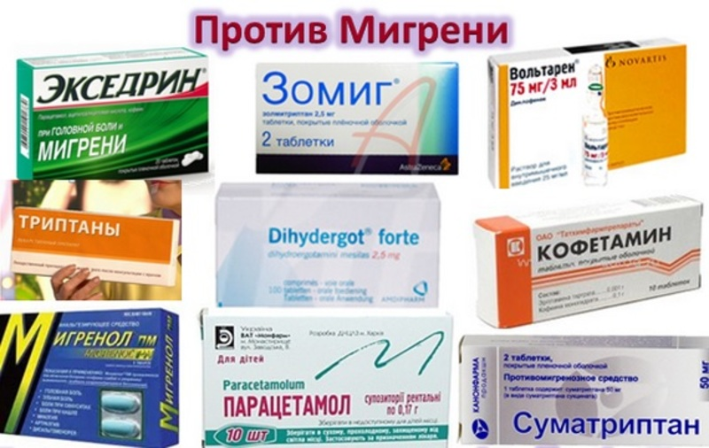 Лекарства от мигрени индия