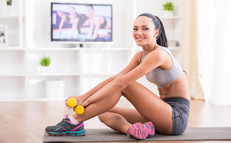 Онлайн урок для похудения