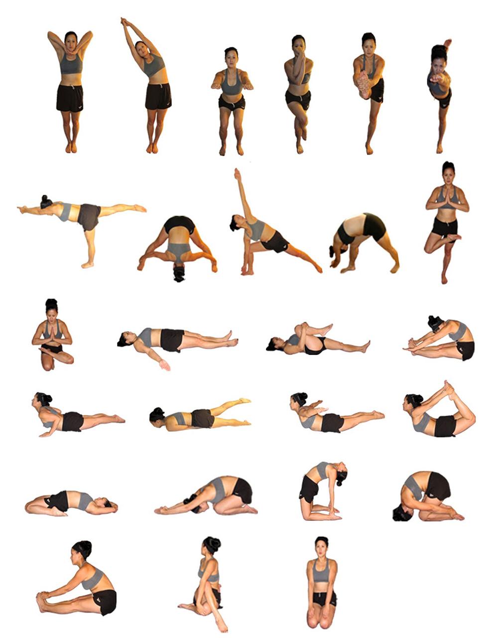 Упражнения для похудения живота при остеохондрозе