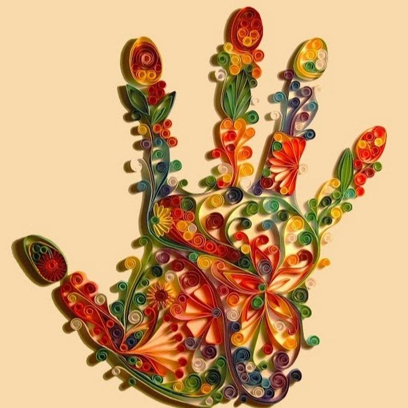 Квиллинг рука