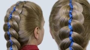 Как плести косы