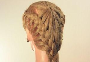 Как плести косички на длинных волосах