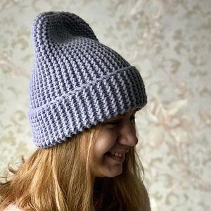 Как сами связать шапку бини