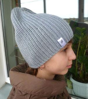Как связать для ребенка шапку