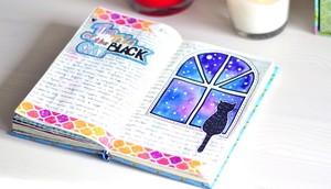 Пример зарисовки в личном дневнике