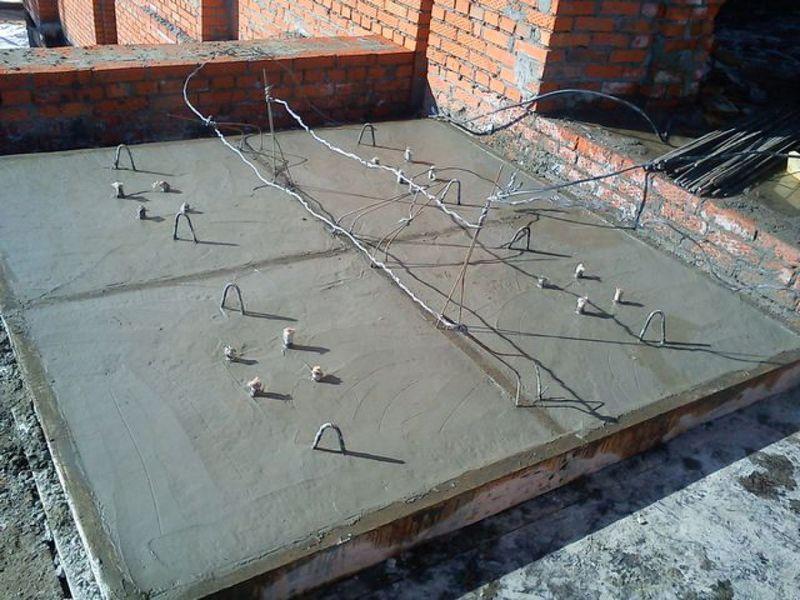 зимнее бетонирование с применением нагревательных проводов