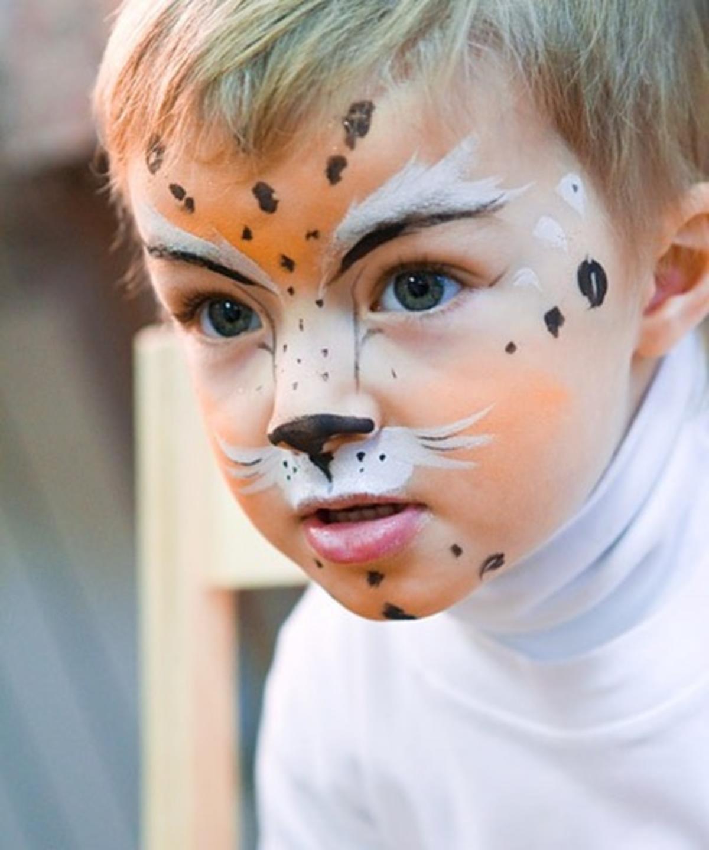 Аквагрим на лице для детей в домашних условиях фото